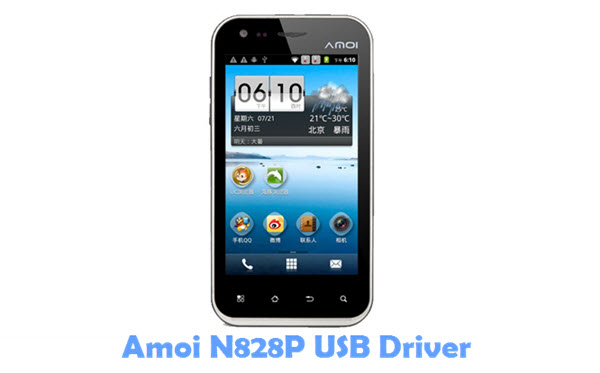 Download Amoi N828P USB Driver