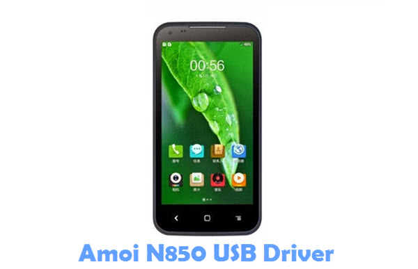 Download Amoi N850 USB Driver