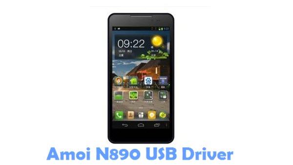 Download Amoi N890 USB Driver