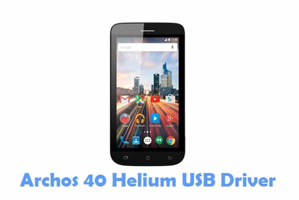 Download Archos 40 Helium USB Driver