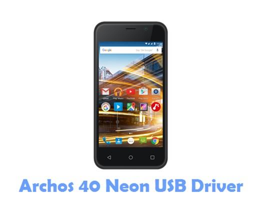 Download Archos 40 Neon USB Driver