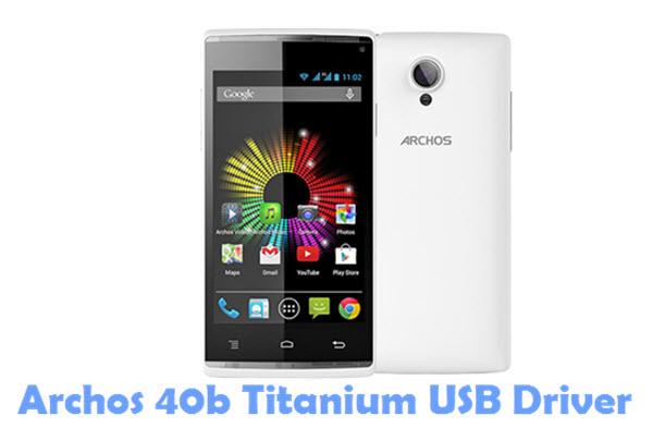 Download Archos 40b Titanium USB Driver