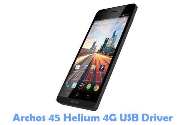 Download Archos 45 Helium 4G USB Driver