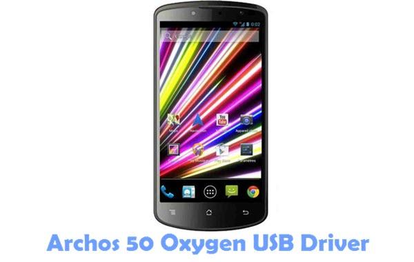 Download Archos 50 Oxygen USB Driver