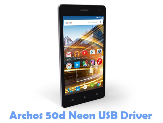 Download Archos 50d Neon USB Driver