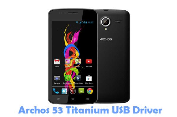 Download Archos 53 Titanium USB Driver