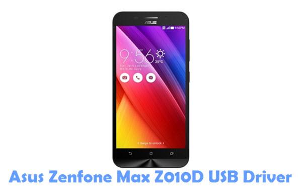 Download Asus Zenfone Max Z010D USB Driver
