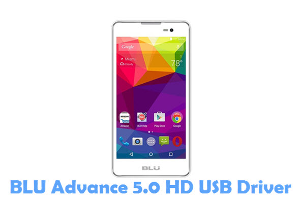 Download BLU Advance 5.0 HD USB Driver