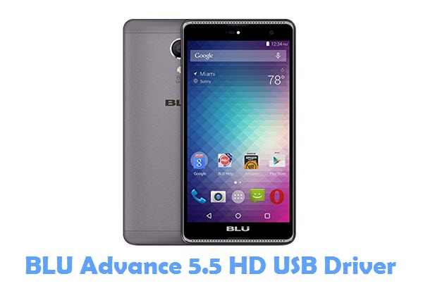 Download BLU Advance 5.5 HD USB Driver