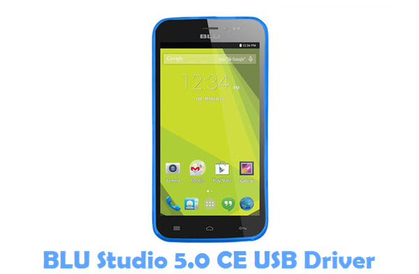 Download BLU Studio 5.0 CE USB Driver