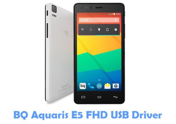 Download BQ Aquaris E5 FHD USB Driver