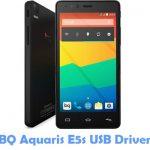 BQ Aquaris E5s USB Driver