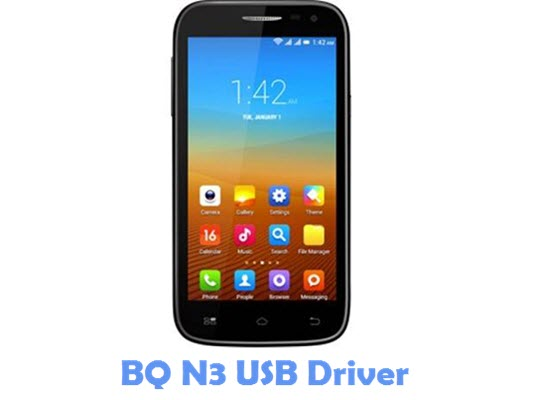 Download BQ N3 USB Driver
