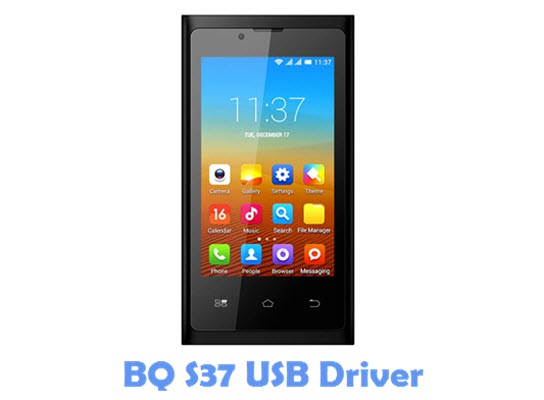 Download BQ S37 USB Driver