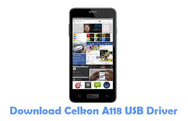 Download Celkon A118 USB Driver