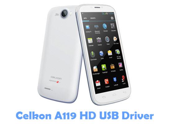 Download Celkon A119 HD USB Driver