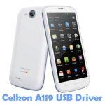Celkon A119 USB Driver