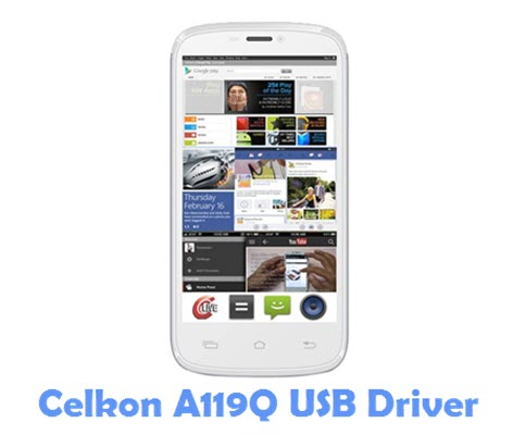 Download Celkon A119Q USB Driver