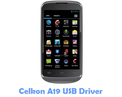 Download Celkon A19 USB Driver