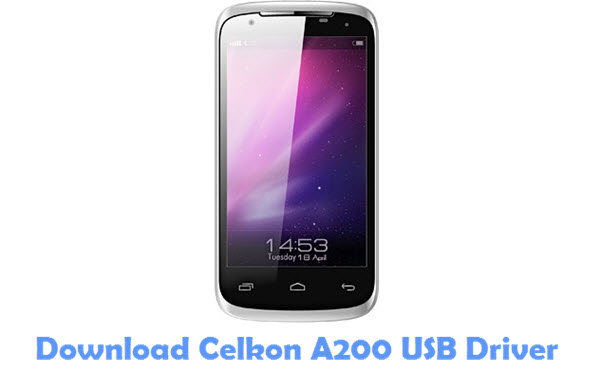 Download Celkon A200 USB Driver