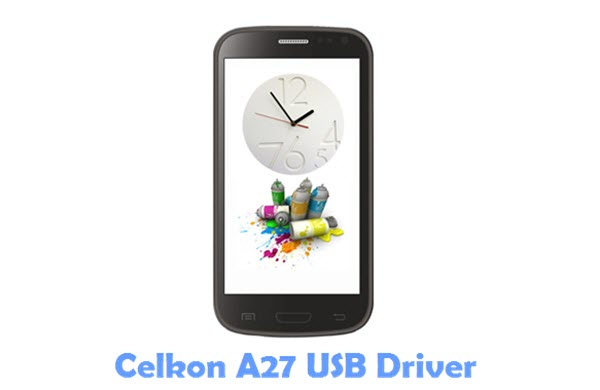 Download Celkon A27 USB Driver