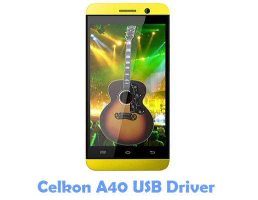 Download Celkon A40 USB Driver | Phone USB Drivers