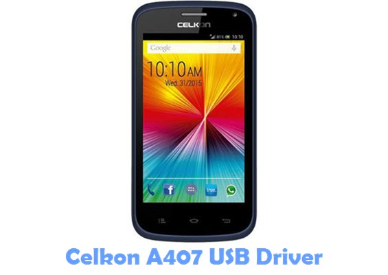 Download Celkon A407 USB Driver