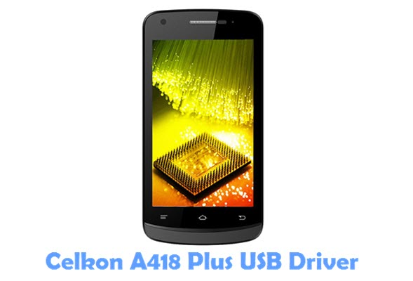 Download Celkon A418 Plus USB Driver