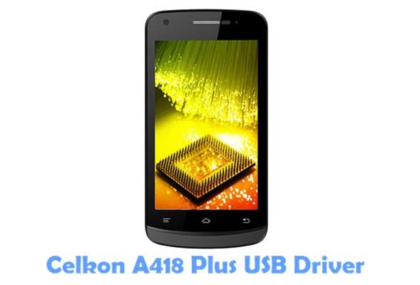 Download Celkon A418 Plus USB Driver