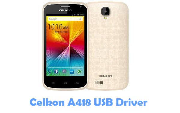 Download Celkon A418 USB Driver