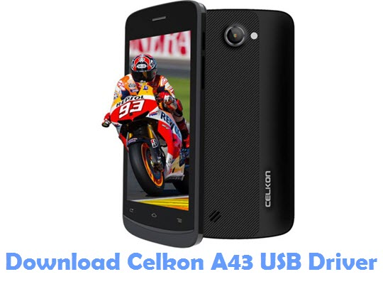 Download Celkon A43 USB Driver