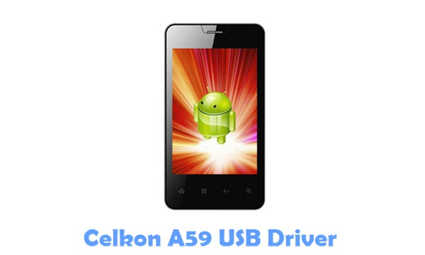 Download Celkon A59 USB Driver