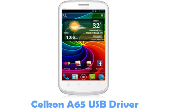 Download Celkon A65 USB Driver