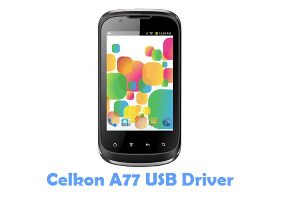 Download Celkon A77 USB Driver