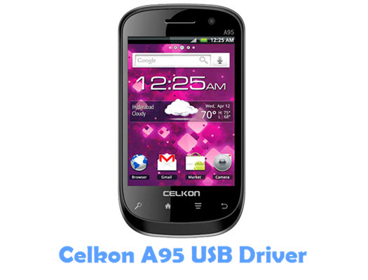 Download Celkon A95 USB Driver