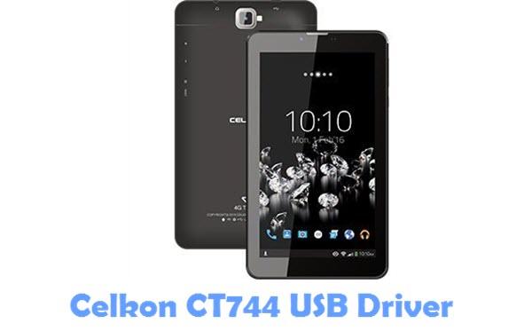 Download Celkon CT744 USB Driver