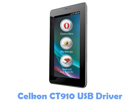 Download Celkon CT910 USB Driver