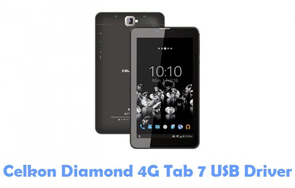 Download Celkon Diamond 4G Tab 7 USB Driver