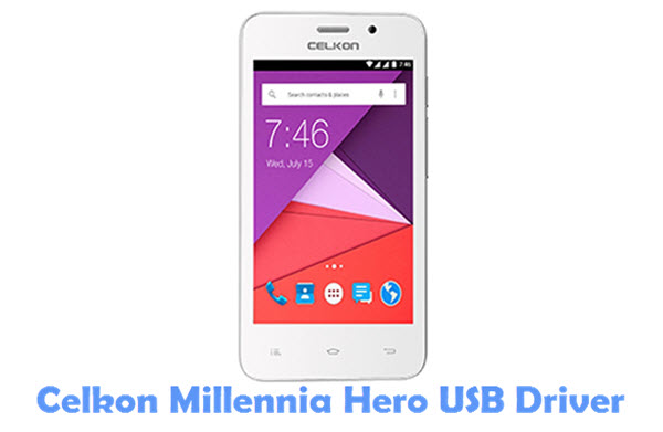Download Celkon Millennia Hero USB Driver