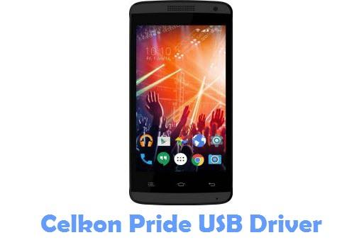 Download Celkon Pride USB Driver