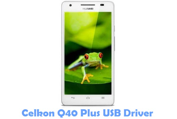 Download Celkon Q40 Plus USB Driver