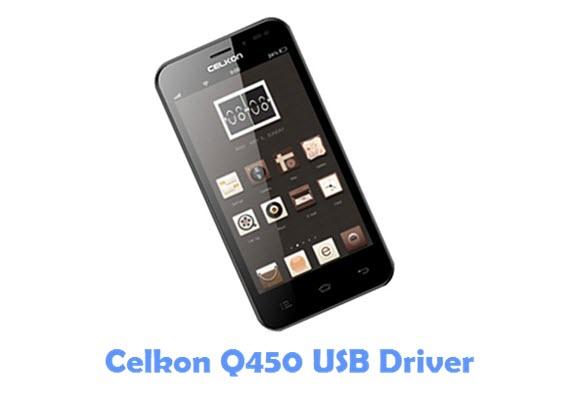 Download Celkon Q450 USB Driver