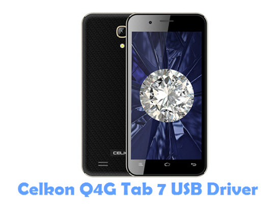 Download Celkon Q4G Tab 7 USB Driver