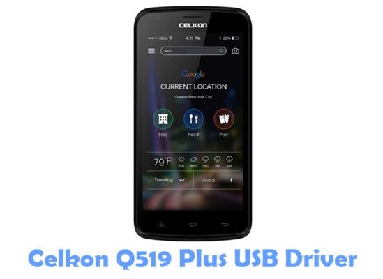 Download Celkon Q519 Plus USB Driver