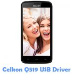 Celkon Q519 USB Driver