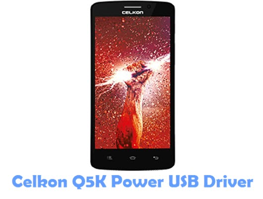 Download Celkon Q5K Power USB Driver