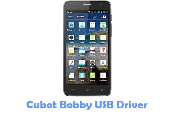 Download Cubot Bobby USB Driver