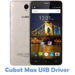 Cubot Max USB Driver
