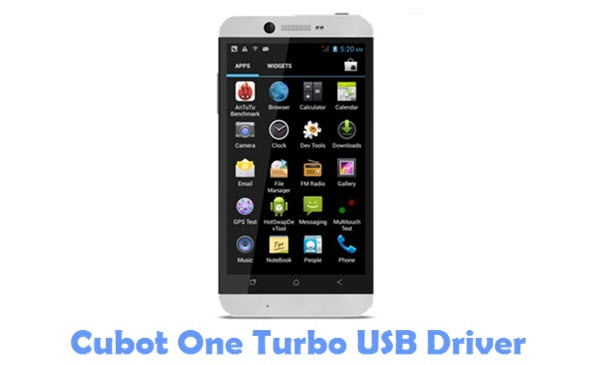 Download Cubot One Turbo USB Driver