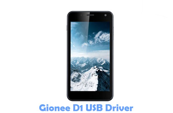 Download Gionee D1 USB Driver